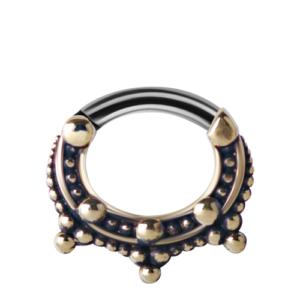 Tribal Brass Clicker